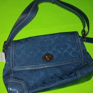 New Coach signature purse women